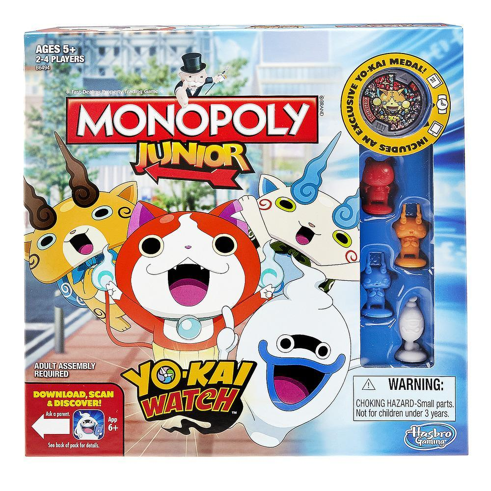 El monopoly junior de 39 yo kai watch 39 llegar a espa a for Chambre yo kai watch
