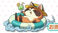 Okiraccoon Yo Kai Watch