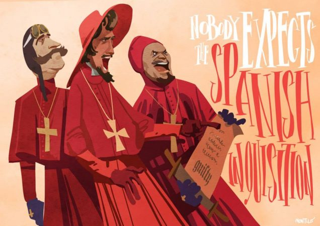 Spanish Inquisition Miquel Montllo