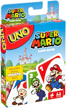 Super Mario cartas UNO