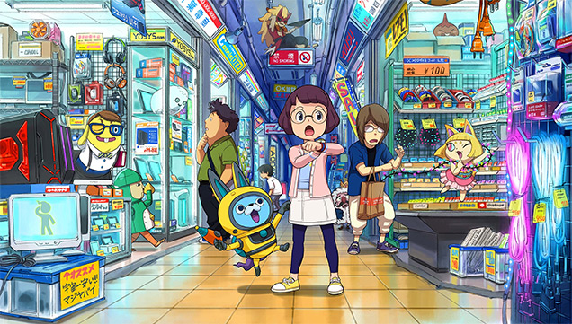 yo kai watch 3 inaho