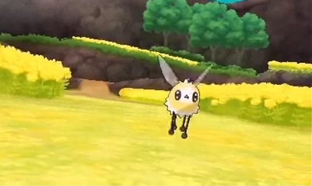 Cutiefly Pokemon Sol Luna