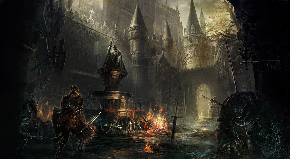 Dark Souls III ciudad