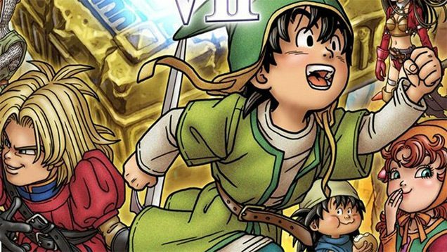 Dragon Quest VII E3 2016