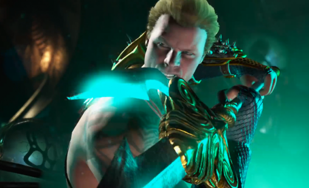 Injustice 2 Aquaman to reshulon