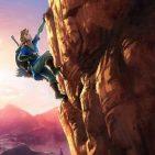 Link escalando Zelda NX