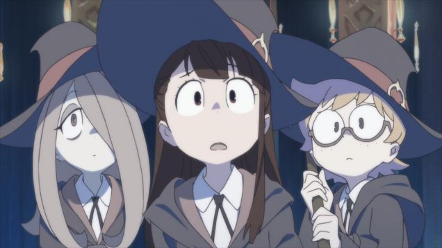 little witch academia netflix 2017