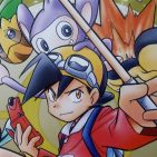 Pokemon Oro manga