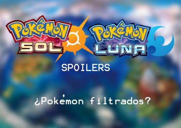 Pékemon Sol Luna spoilers