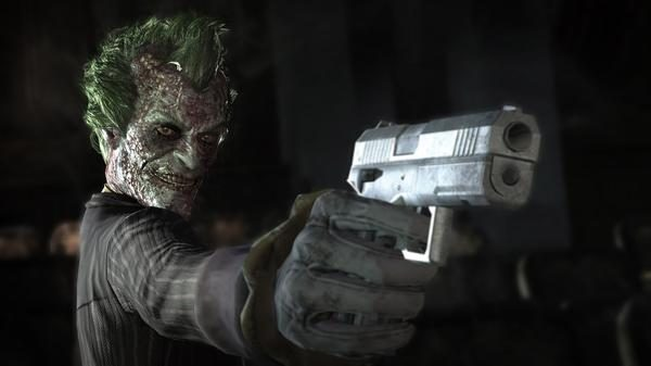 Return to Arkham Joker enfermo