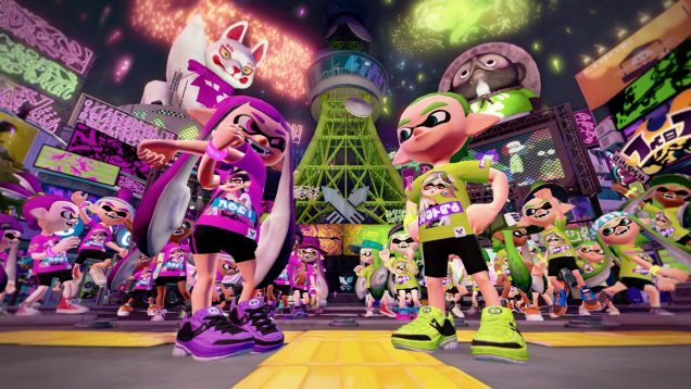Splatoon Mar VS Tina