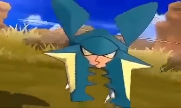 Vikavolt Pokemon Sol Luna