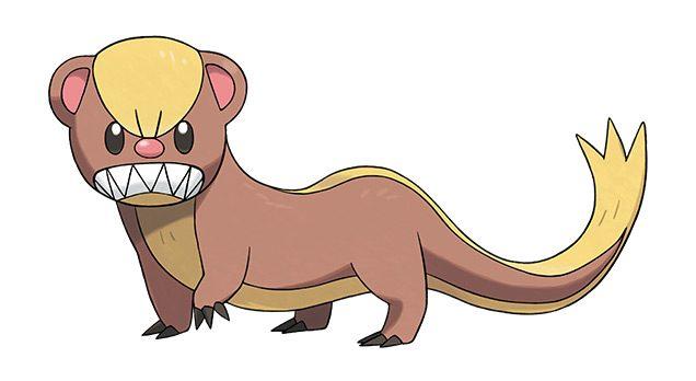 Yungoos Pokemon Sol Luna