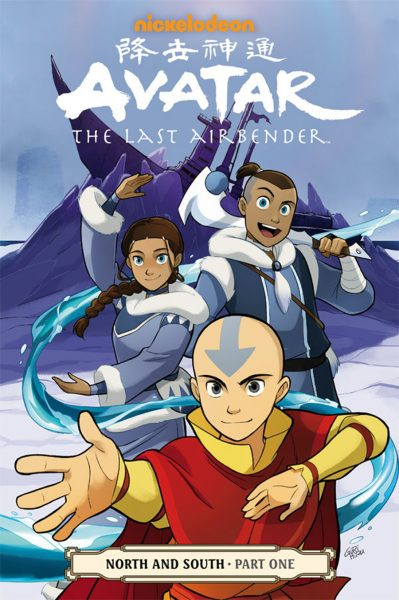 avatar la leyenda de aang north and south portada