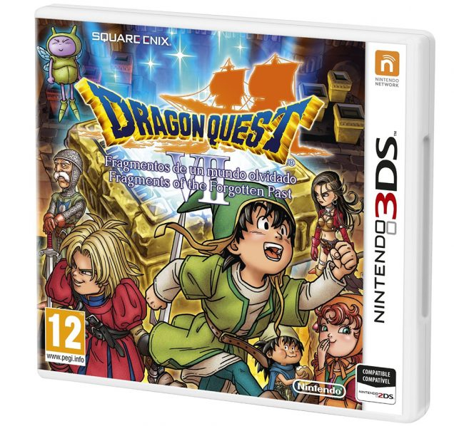 Dragon Quest VII PAL cover