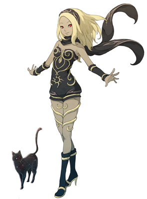 Gravity Rush Remastered personaje