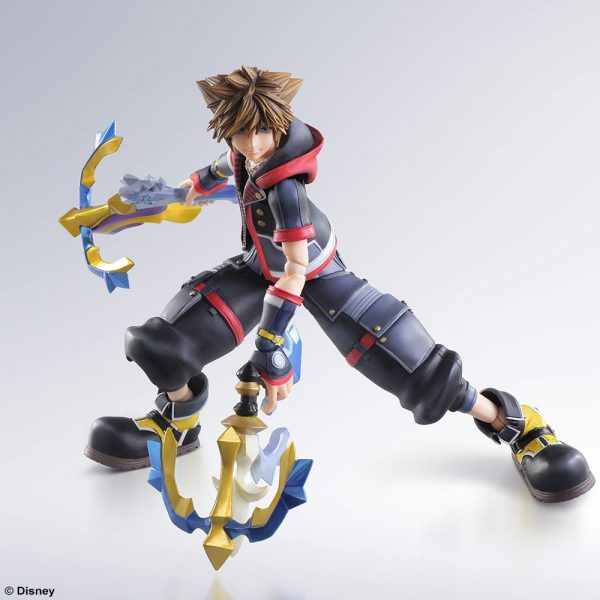 kingdom hearts iii sora play arts kai 5