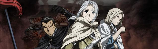 la heroica leyenda de arslan ficha