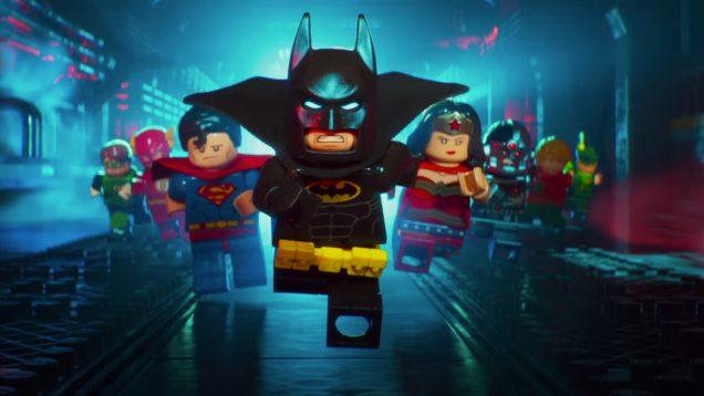 LEGO Batman Movie Justice League Friends