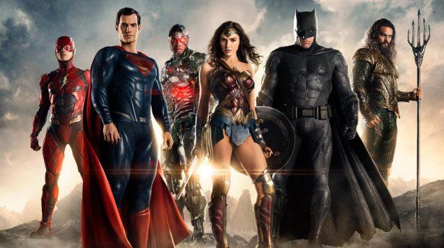 Liga de la Justicia Grupo Completo