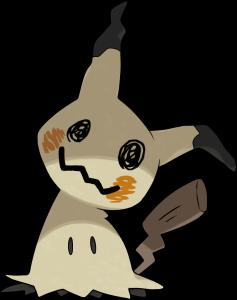 mimikyu pokemon sol y luna
