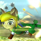 Monster Hunter Toon Link