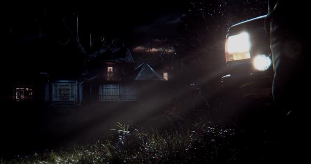Resident Evil VII window