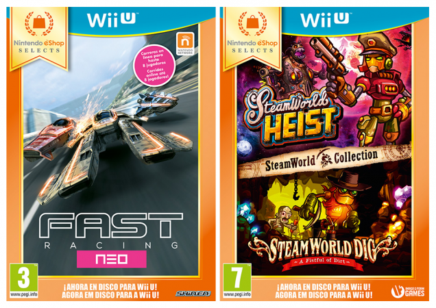 Wii U eShop Fast Racing Neo Steamworld