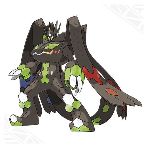 Zygarde Forma Completa Pokemon Sol Luna