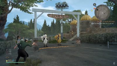 Final Fantasy XV - Chocobo Racing