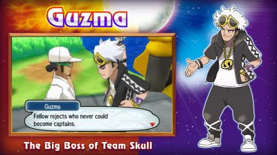 Guzma Pokemon Sun Moon