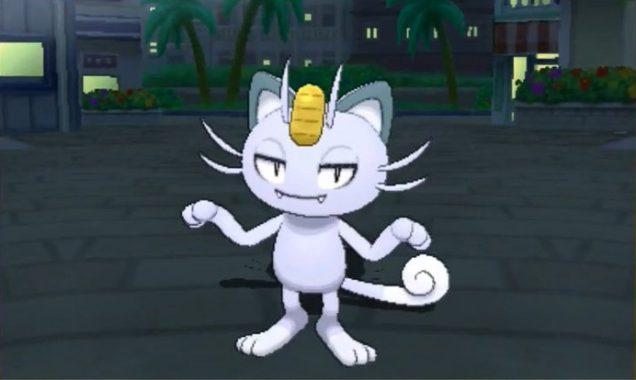 Meowth de Alola . Pokémon Sol y Luna
