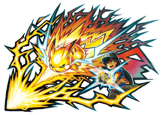 movimiento Z Pokemon Sol Luna