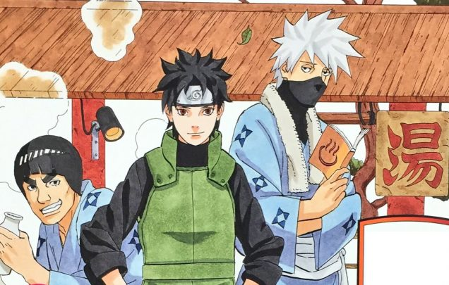 Naruto anime invierno