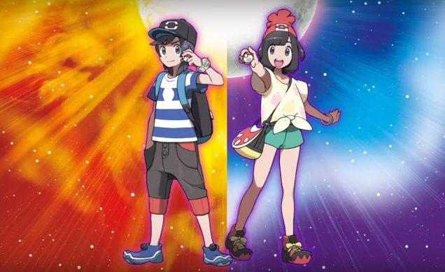 Pokemon Sol Luna protagonistas