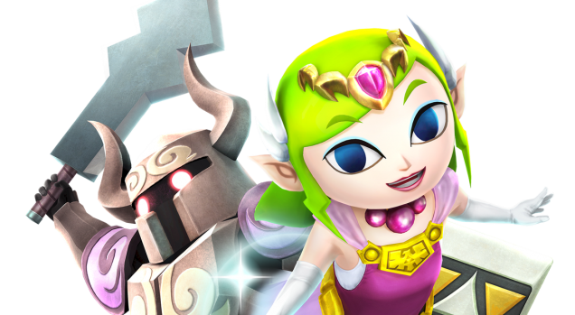 Hyrule Warriors Legends Toon Zelda