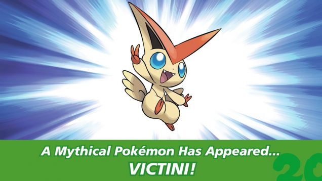Pokémon Aniversario Victini