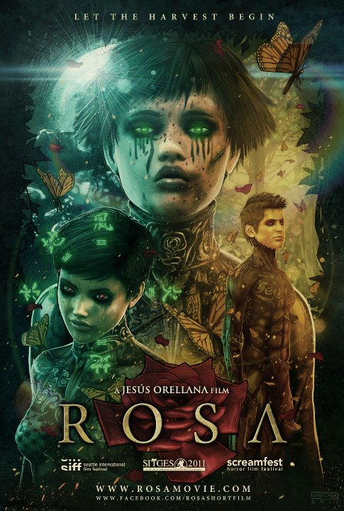 corto Rosa poster cartel