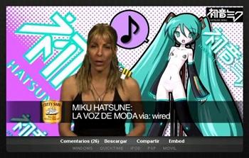 Hatsune Miku desnuda