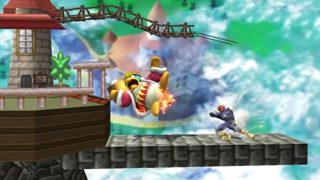 Castillo de Peach 64 de Super Smash Bros 3DS y Wii U