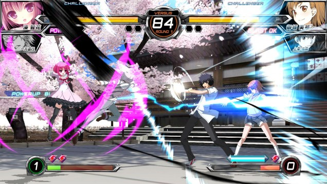 Dengeki Bunko Fighting Climax PAL