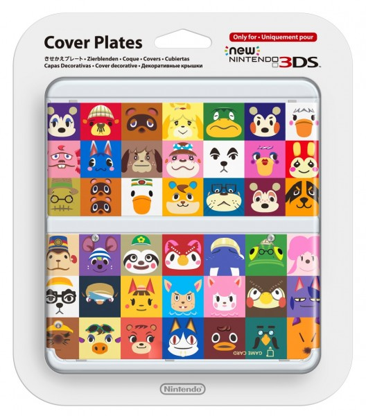 Cubierta Animal Crossing New 3DS