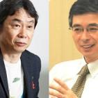 Shigeru Miyamoto y Genyo Takeda, de Nintendo