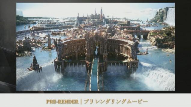 Render de Altissia en Final Fantasy XV