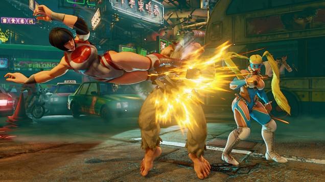 Rainbow Mika Street Fighter V 4
