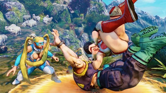 Rainbow Mika Street Fighter V 3