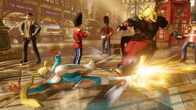 Rainbow Mika Street Fighter V 10