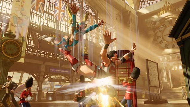 Rainbow Mika Street Fighter V 8