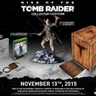 Edición coleccionista de Rise of the Tomb Raider