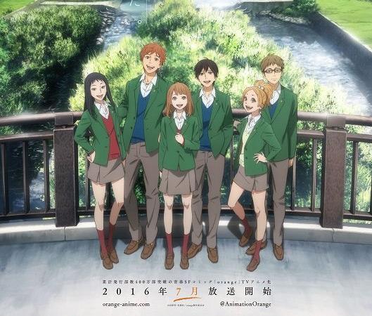 Orange': el anime presenta fondos casi fotográficos